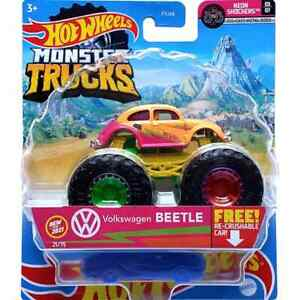 #21 Volkswagen Beetle - Hot Wheels Monster Truck Diecast Car