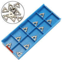 *For Aluminum TCGT110204-AK H01 TCGT21.51 Carbide Inserts Cutter Blade TCMT1102*
