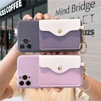 New Silicone Wallets Phone Case For iPhone 12 Pro Max 11 Pro Max SE 2020 X XR XS