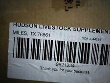 HUDSON LIVESTOCK COATED ASORBIC ACID-97 W5/SOP/04/03/0017 #3344214