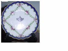 A very fine antique 1740 Worcester tea cup and saucer and companion cup