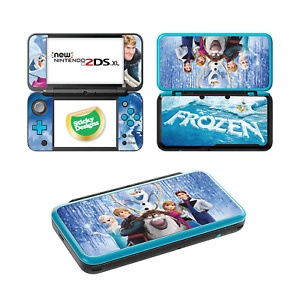 Frozen Vinyl Skin Sticker Set for Nintendo NEW 2DS XL