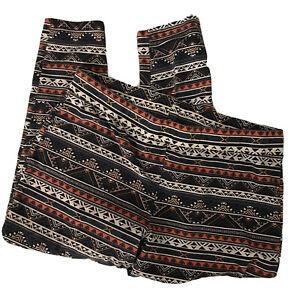 TORRID Aztec Boho Southwestern Print Leggings Stretch Pants Womens Sz 4X