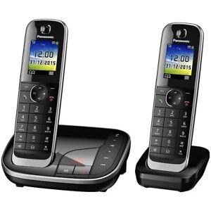 Panasonic Schnurlostelefon mit AB KX-TGJ322GB schwarz