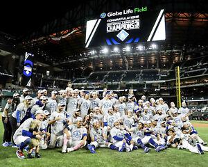 LA DODGERS 2020 - MLB NL Champions, 8x10 Color Team Celebration Photo