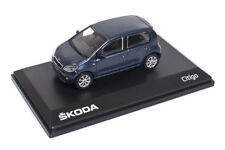 Original Skoda Citigo 1S 5 Türer Modellauto 1:43 Night Blau