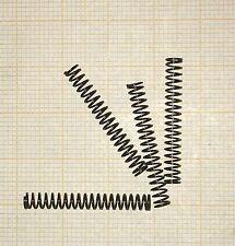 4 x Druckfeder,  Länge 27mm, Außen Ø3,6mm, Drahtstärke 0,4mm