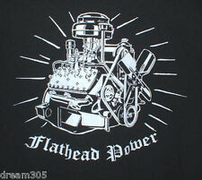 Ford FLATHEAD Mercury XL T Shirt F1 Ratrod Hot Rod Model A 1932 1933-1936 ! Merc