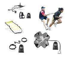 Crossfit Agility Training Combo Kit Ladder,Sled,Parachute,Evasion Belt,Resistor