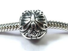 PANDORA CHARM SILVER GENUINE 925 ALE OPENING LAPWING BUTTERFLY BALL CLIP 791256