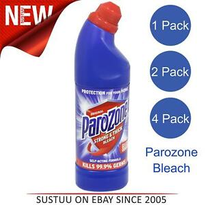 Parozone Original Quality Household Thickest Bleach│Kills 99.9% Germs│750ml Pack