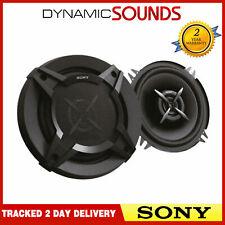 SONY 460W TOTAL 2WAY 5.25 inch 13cm Car Door/Shelf Coaxial Speakers Black Pair