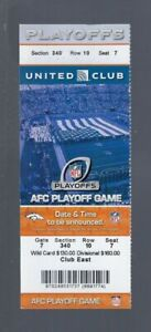 JOE FLACCO HAIL MARY - RAVENS @ BRONCOS 2012-13 NFL AFC PLAYOFFS FULL TICKET