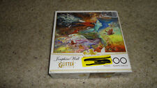 Spirit of Flight (Glitter Edition) by Josephine Wall - 1000 Piece Jigsaw Puzzle