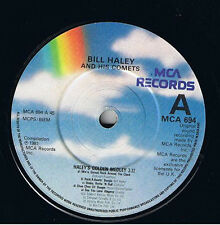 "Bill Haley And His Comets – Haley's Golden Medley, 7"" vinyl  disc,"