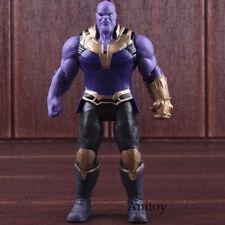 Avengers Marvel Action Figures Toys Lighting Infinity War Thanos Figure PVC