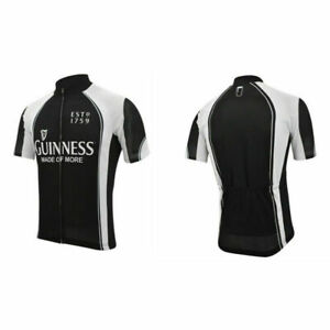 Guinness Beer Team Cycling Jersey Retro Road Pro Clothing MTB Short Sleeve Shirt