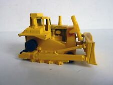 HOT WHEELS 1172 CAT BULLDOZER WORKHORSES 1980 1/64 MALAYSIA SANS CHENILLE