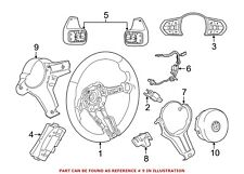 For BMW Genuine Steering Wheel Back Cover Rear 32307848270
