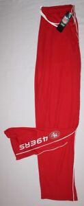 San Francisco 49ers Classic IV Mens Track Pants - NFL Majestic