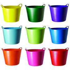 GENUINE FLEX TUBTRUG BUCKETS HORSE FEEDING WATER CARRY TUB TOY STORAGE TRUG