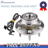 Box(1) Front Wheel Bearing Hub ASSY For 07-13 ESCALADE AVALANCHE SUBURBAN TAHOE