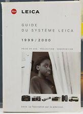 Leica Guide du Système Leica 1999/2000 Catalogue 334 pages