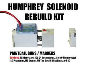Paintball Bob Long Intimidator HUMPHREY SOLENOID Rebuild Kit Parts Noid