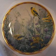 Lenox Plate Golden Splendor Nature's Collage Bird Catherine McClung