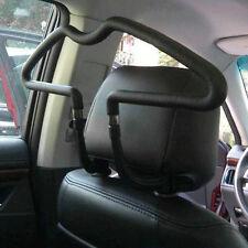 Black stainless Car Seat Headrest Jacket Coat Suit Clothes Hanger Holder XP