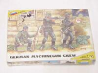 1/35 Zvezda WW2 German Machine Gun Crew 3 Figures & Weapons Plastic Model Kit