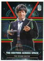 2016 Topps Doctor Who Exraterrestrial Doctors Across Space #2 The Second Doctor