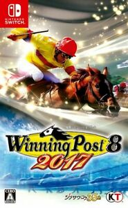 Winning Post 8 2017 Nintendo Switch Video Games Japanese Tracking USED