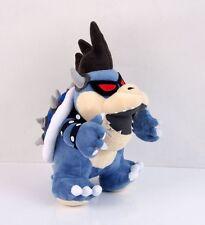 "Super Mario Bros. Dark Bowser Bones Koopa Stuffed Animal Plush Soft Toy Doll 12"""
