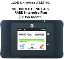 AT&T UNLIMITED DATA 4G LTE Unite Pro 781S + 3 Days FREE Trial+ LIFETIME Warranty