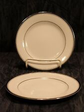 2 Zylstra Silver Ecstasy Bread And Butter Plate Select Fine China Made In Japan