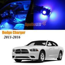 Full Ultra Blue LED Lights Upgrade Interior Package For 2011-2016 Dodge Charger