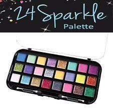 "Beauty Treats 24 Colors Sparkle Glitter Eye Shadow Palette *US SELLER"""