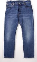 Levi's Strauss & Co Hommes 501 Jeans Jambe Droite Taille W36 L32 BCZ848