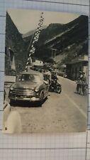 FOTO  Automobile anni 50 frontiera italiana moto Polizia K55 ^