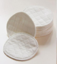Reusable 100% Cotton Make Up Pads Facial Cleanser Wipes Washable + Storage Bag