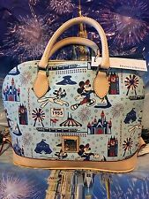 Disney Dooney & and Bourke Disneyland Half Marathon 2016 Zip Zip Satchel
