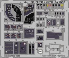 Eduard 1/48 Dornier Do 17Z-2 etch for ICM # FE790