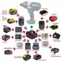 Li-ion Battery Adapter For Makita 18V DeWalt Bosch AEG RIDGID DEVON Worx Milwauk