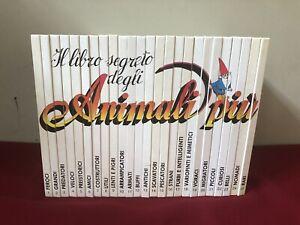 IL LIBRO SEGRETO DEGLI ANIMALI PIU' - completa 25 volumi / De Agostini -gnomi-