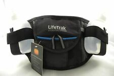 Lifetrak Hydration Belt w/ Secure Storage w/ Dual 6oz Sport Bottles BPA Free
