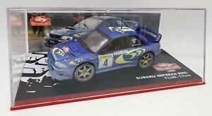 """1/43 IXO SUBARU IMPREZA WRC 1997 """"Rallye Monte-Carlo"""""""
