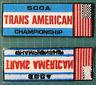 SPORTS CAR CLUB OF AMERICA CHAMPIONSHIP EMBROIDERED PATCH PATCHE ROAD RACING