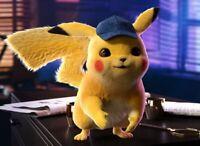 Peluche Détective Pikachu Jouet Pokemon Enfant Cadeau Doudou Poupée Pikachu Doux
