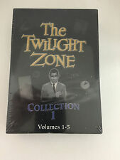 The Twilight Zone Collection 1 DVD Set Volumes 1-5 Brand new sealed